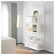 White Bedroom Shelving