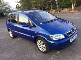 2005 vauxhall zafira 1 6 breeze 5 door nice blue 2006 1