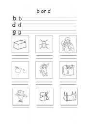 B And D Worksheets Worksheet B D G Spelling And Cvc Words