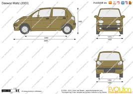 the blueprints com vector drawing daewoo matiz