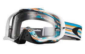 oakley motocross goggle lenses oakley crowbar mx glitch blue orange clear buy cheap fc moto