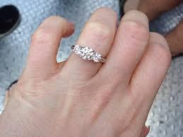 3 engagement ring wedding rings trilogy engagement ring history 3 ring