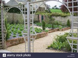 Garden Trellis Archway Trellis Arches Stock Photos U0026 Trellis Arches Stock Images Alamy