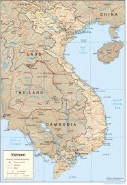 Blank World Physical Map Pdf by Vietnam Map Blank Political Vietnam Map With Cities
