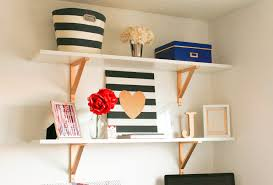 home office diy shelves indianapolis lifestyle blog