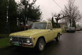 Ford Old Pickup Truck - old parked cars 1972 ford courier