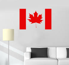 wall mural canada promotion shop for promotional wall mural canada canada flag vinyl wall stickers maple leaf canadian room art wall sticker removable pattern wallpaper self adhesive mural sa231