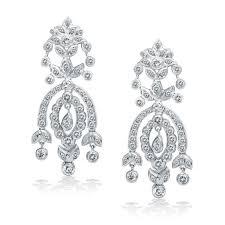 diamond chandelier earrings king jewelers diamond chandelier earrings king jewelers