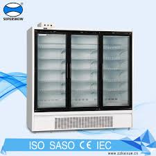 fridge freezer glass door glass door refrigerator freezer glass door refrigerator freezer