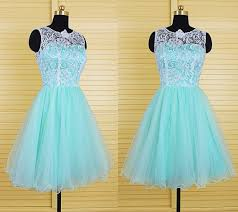 teal tulle gown mint green tulle ivory lace tutu prom dress