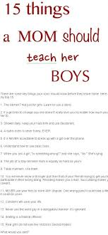 10 things your should by the time she is 10