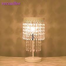 Chandalier Table Lamp Beauteous Small Crystal Chandelier Table Lamp Floor Lamp Crystal