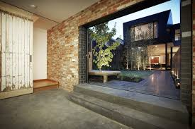 Patio Doors Melbourne Patio Doors Courtyard Enclave House In Melbourne Australia By