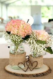 jar wedding centerpieces wedding jar centerpieces jars wrapped with burlap and with