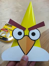 Angry Bird Invitations Templates Ideas The Contemplative Creative Angry Birds Party Hats