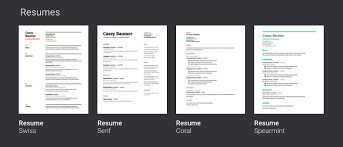 Different Resume Templates Google Drive Resume Templates Haadyaooverbayresort Com