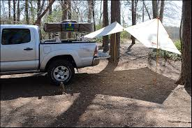 Diy 4wd Awning Awning Mounted On Truck Bed Rails Expedition Portal