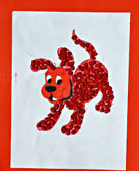 painted cereal clifford the big free books fab