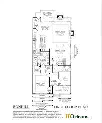 Colonial Floor Plan Bonhill At Spring Oak Jporleans