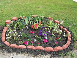Raised Rock Garden by Small Flower Bed Ideas With Rock Garden Ideas Also Small Plants