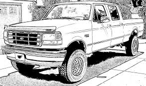 printable 16 ford truck coloring pages 6803 ford truck coloring