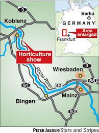 Koblenz Germany Map by Koblenz Horticultural Show Puts Plantlife In The Spotlight