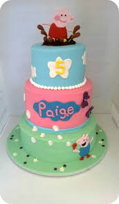 peppa pig cake peppa pig cake this was made for a girl through operation