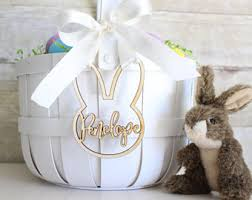 personalized easter personalized easter basket etsy
