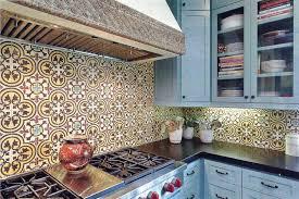Mexican Tile Backsplash Kitchen Kitchen Countertop With Mexican - Mexican backsplash