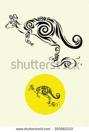 boxing kangaroo tattoo designs free vector download 3 652 free
