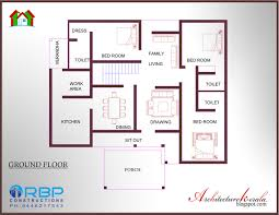 Model House Plans Typical Kerala House Plans House Design Plans
