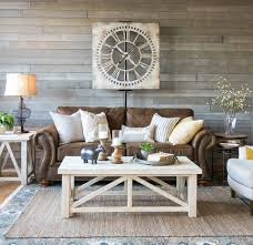 decorating farmhouse style living room very characteristic