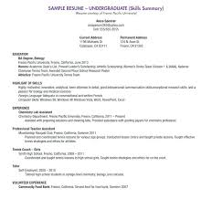recent college graduate resume template word student accountant