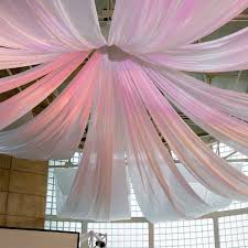 Draping Pictures Hanging Fabric From Ceiling Ideas Decorating With Sheer Fabrics