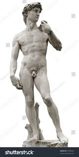 michelangelo s david michelangelos david isolated on white clipping stock photo