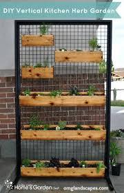 Patio Herb Garden Ideas Vertical Herb Garden Outdoor Decorating Inspiration 2018