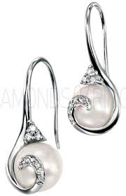 earrings uk 47 diamond and pearl earrings uk tara pearls pearl and diamond