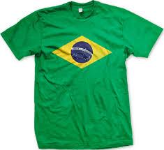Blank Brazil Flag Brazil Flag Crest Men U0027s T Shirt Flag Of Brazil Brasil