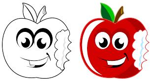 apple cartoon apple art artwork free image on pixabay