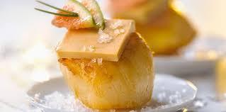 cuisine coquille st jacques coquilles jacques au foie gras facile recette sur cuisine