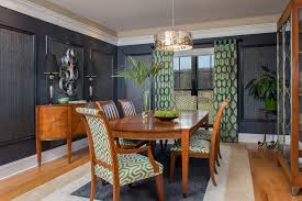 Black Lacquer Dining Room Furniture Contemporary Flush Joshuaford Photography