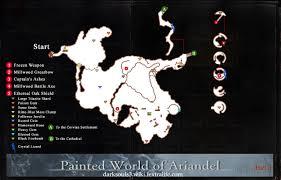 Dark Souls Map Painted World Of Ariandel Dark Souls 3 Wiki