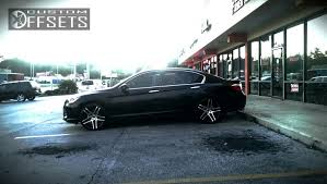 2013 honda accord custom wheel offset 2013 honda accord aggressive 1 outside fender stock