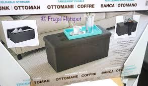 Trunk Ottoman Costco Sale Seville Classics Foldable Trunk Ottoman 19 99