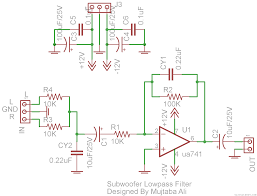 circuit diagram of home theater 100w subwoofer amplifier circuit diagram working and applications