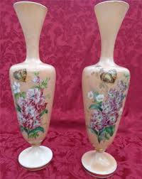 Pink Milk Glass Vase Milk Glass Antique Price Guide