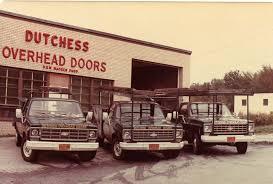 Dutchess Overhead Door History Dutchess Overhead Doors