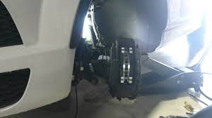 audi q7 brake pad replacement how to change the front brakes on an audi q7 2015 with rotors and