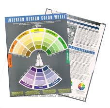 interior design colour wheel helps with colour scheme from one