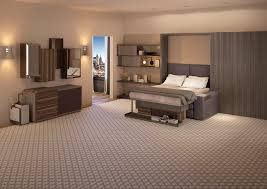 Transformer Hotel Tiny Room Showcases Convertible Furniture - Hotel bedroom furniture